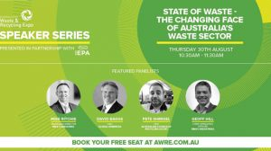 MRA's Mike Ritchie to facilitate AWRE 'State of Waste' seminar in Sydney