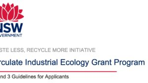Circulate, NSW Industrial Ecology Program